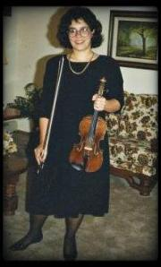 karen with violin