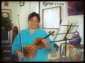 karenandviolin